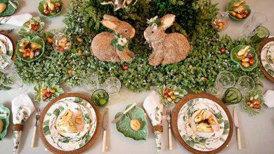 mesa pascoa 390x220 - Cecilia Dale e Lindt apresentam mesa de Páscoa