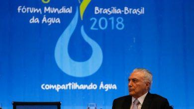 michel temer   forum 390x220 - Crescimento sustentável depende do acesso à água, diz Temer