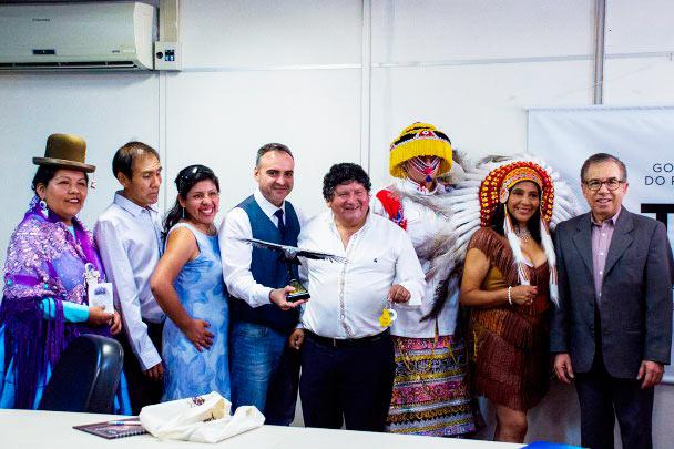 peru - Comitiva turística peruana visita Sedactel