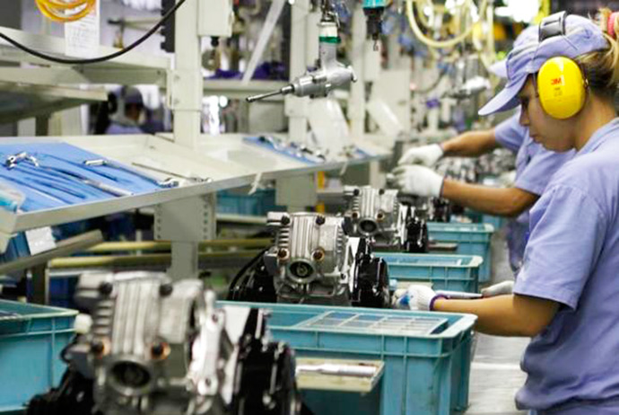 producao industrial 1 - RS: atividade industrial inicia o ano em ritmo lento