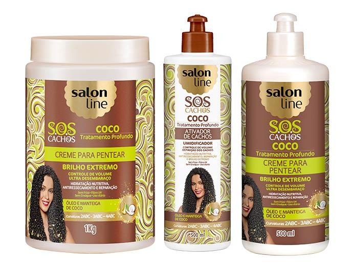 salon - S.O.S Cachos - Coco Tratamento Profundo ganha novos tamanhos