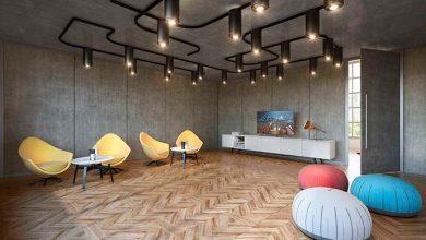 Photo of Novitá: a tendência do concreto também nos espaços corporativos