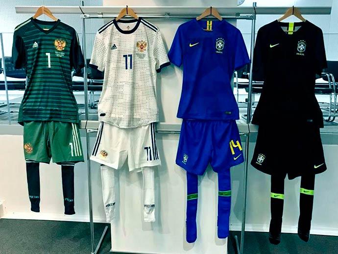 uniforme brasil - Brasil jogará todo de azul contra a Rússia