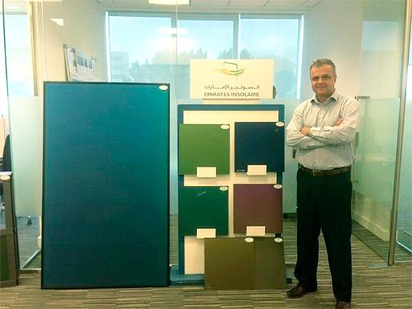 vid - Vidro solar colorido de Dubai será comercializado no Brasil