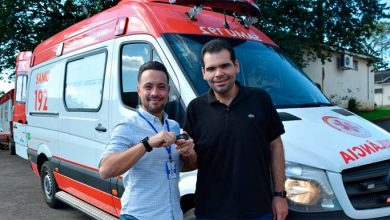 Ambulância SAMU 1 390x220 - SAMU de Novo Hamburgo recebe nova ambulância