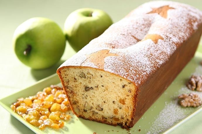 BOLO MAÇÃ - Receita de bolo de maçã