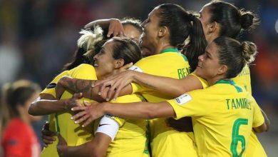 Brasil não teve dificuldade para derrotar por 3 a 1 a equipe chilena no quadrangular final da Copa América de futebol feminino Lucas Figueiredo 390x220 - Brasil lidera com Argentina Copa América de futebol feminino