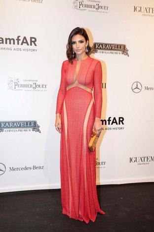 Carol Celico 2 312x468 - Baile de gala do amfAR reuniu famosos em São Paulo