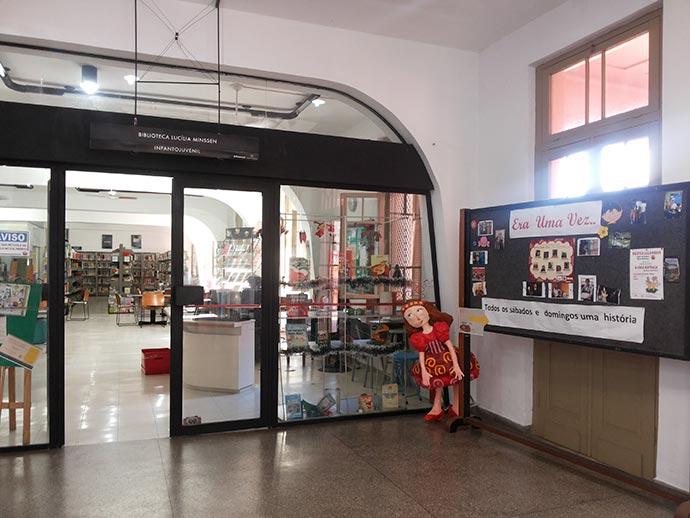Casa de Cultura Mario Quintana - Curso de contação de histórias ocorre na Casa de Cultura Mario Quintana