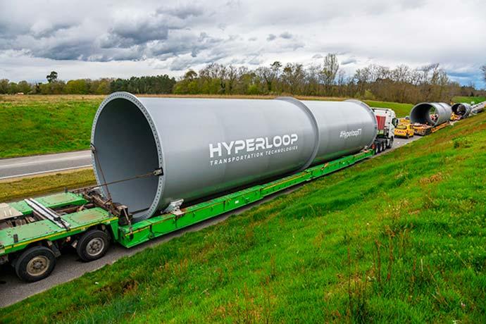 Divulgação Hyperloop Transportation Technologies - Novidades do setor de transportes