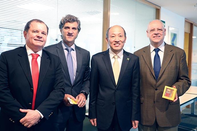 FIABCI BRASIL - FIABCI-BRASIL recebe a delegação chinesa do CIREA