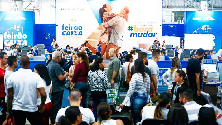 Feirão da Casa Própria - Feirão da Casa Própria negocia 202 mil imóveis em 15 cidades