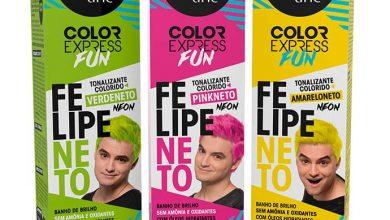 Felipe Neto  390x220 - Color Express Fun Felipe Neto é novidade da Salon Line