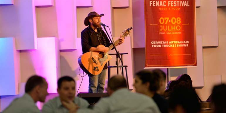 Festival de Cervejas Artesanais tem happy hour  - Festival de Cervejas Artesanais tem happy hour com música ao vivo na FENAC