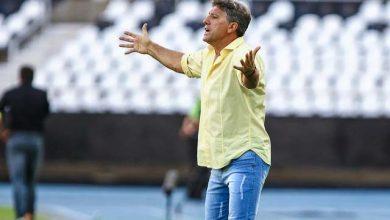 Grêmio é derrotado pelo Botafogo no Rio 1 2 390x220 - Tricolor joga no Rio e sofre derrota por 2 a 1