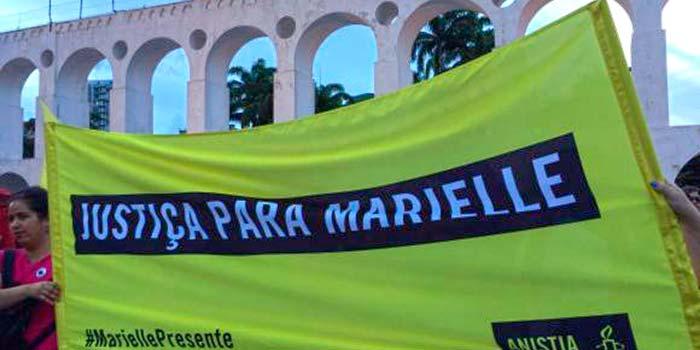 Homenagens após um mês da morte de Marielle e Anderson Gomes 2 - Homenagens após um mês da morte de Marielle e Anderson Gomes