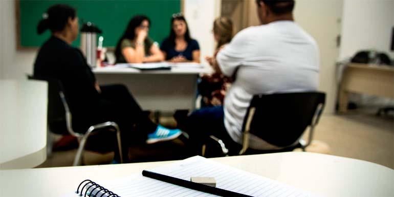 Iniciam aulas do EJA no Centro de Artes e Esportes Unificados em NH - Iniciam aulas do EJA no Centro de Artes e Esportes Unificados em NH