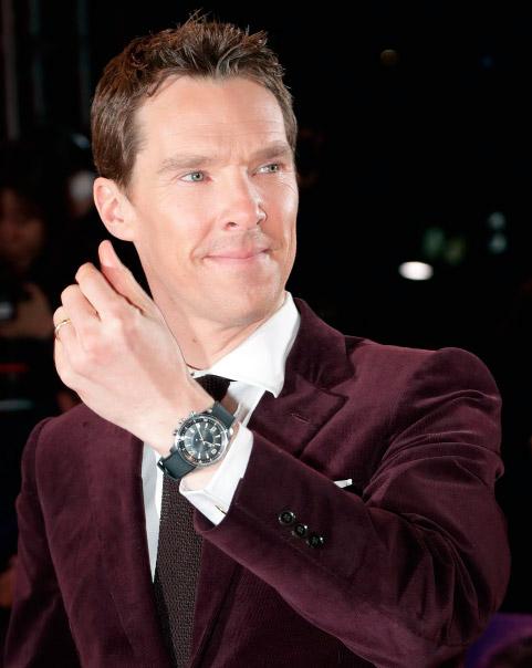 Jaeger LeCoultre Benedict Cumberbatch - Benedict Cumberbatch usa Jaeger-LeCoultre em Seul