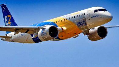 Jato da Embraer 390x220 - Embraer informa que negociação com Boeing pode excluir áreas militar e executiva
