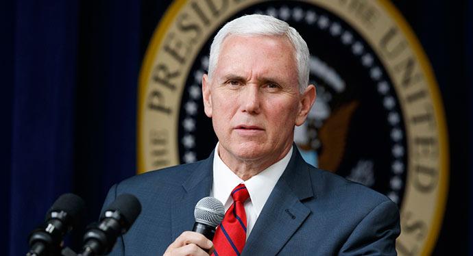 Mike Pence - Vice-presidente dos Estados Unidos vem ao Brasil em maio