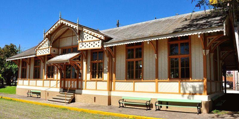 Museu do Trem em São Leopoldo - Domingo de cultura no Museu do Trem em São Leopoldo