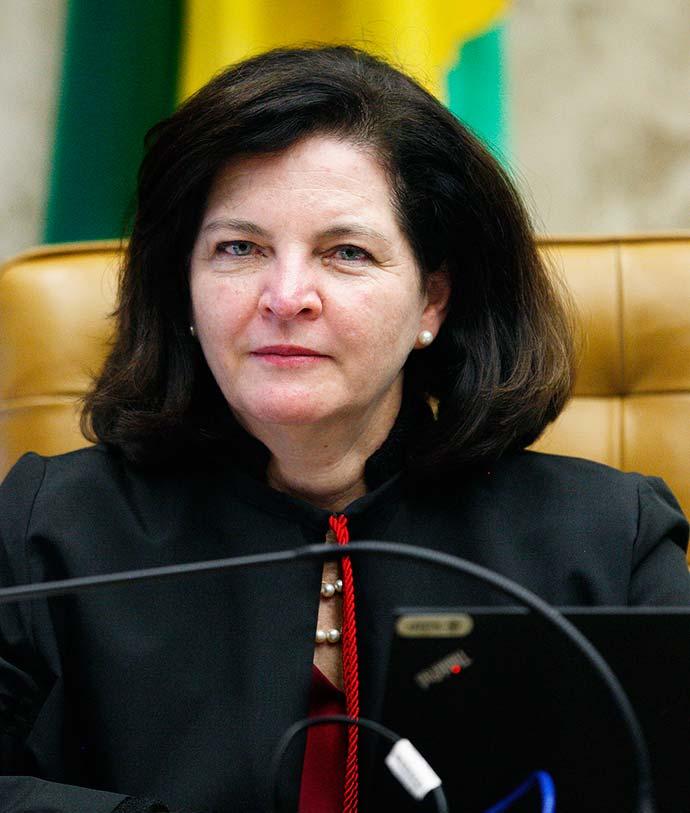 Procuradora geral da República Raquel Dodge durante sessão plenária do STF - PGR apresentou 46 denúncias contra 144 pessoas em um ano