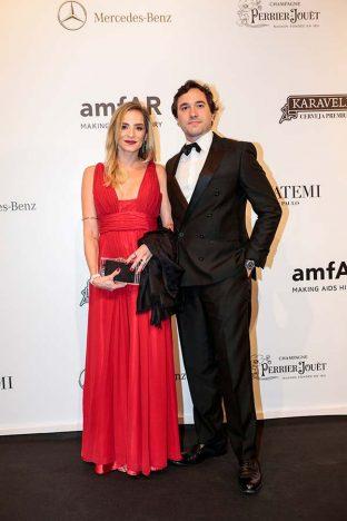 Renata Barcellos e Raphael Vidigal 2 312x468 - Baile de gala do amfAR reuniu famosos em São Paulo