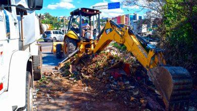 Photo of Secretaria de Obras realiza limpeza às margens da rodovia ERS-239