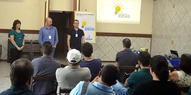 Semae Programa de Ideias - Lançado o Ciclo 2018 do Programa de Ideias no SEMAE