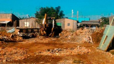 Photo of Semurb e Grupamento de Defesa Ambiental flagram aterramento em APP