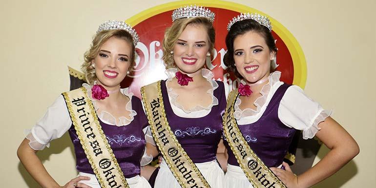 Soberanas Ocktober - Oktoberfest de Igrejinha escolheu rainha e princesas