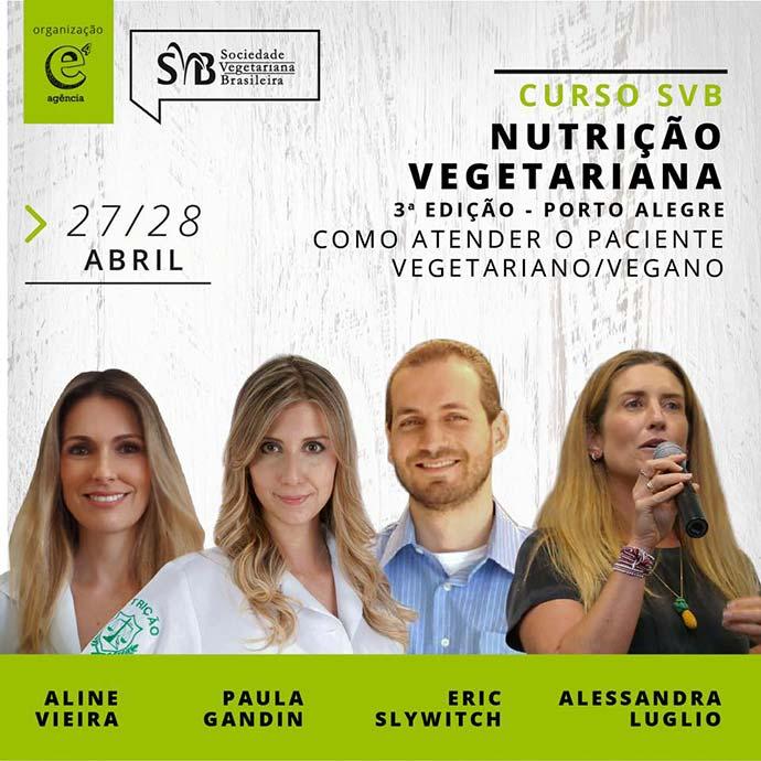 Sociedade Vegetariana Brasileira - Capacitação profissional para atender pacientes vegetarianos e veganos