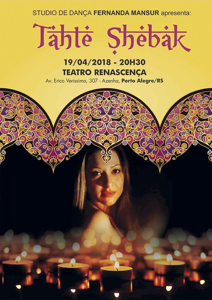 Tahte Shebak - Danças árabes nesta quinta-feira no Teatro Renascença