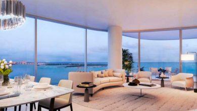 Una Residences em Miami EUA 1 390x220 - No topo: Edifício em Miami tem unidades de até US$ 5 milhões