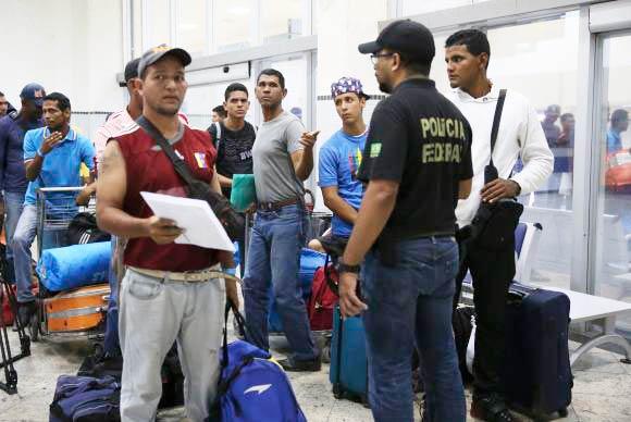 Venezuelanos começam a deixar Roraima e são abrigados em São Paulo e Cuiabá - Rio Grande do Sul e São Paulo recebem mais venezuelanos