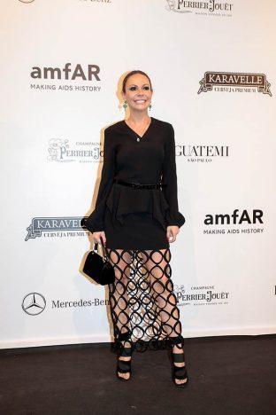Vivi Mascaro 2 312x468 - Baile de gala do amfAR reuniu famosos em São Paulo