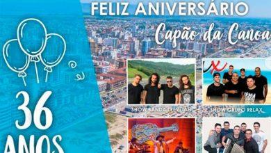 aniver capão 390x220 - Aniversário de Capão da Canoa tem programação especial