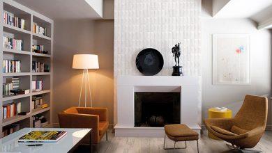californian wood 20x120 arpege blanc 95x195 ret sala com lareira 390x220 - Parede é um dos destaques da Portobello