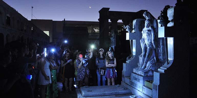 caminhada cemiterio 2017 1 - Santa Casa promove caminhada cultural em cemitérios na sexta-feira 13