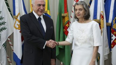 Photo of Presidente Temer transmite o cargo à presidente do STF
