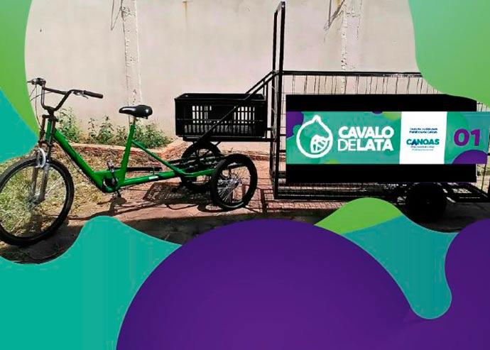 carroça de lata canoas - Canoas proíbe a circulação de carroças no Centro da cidade
