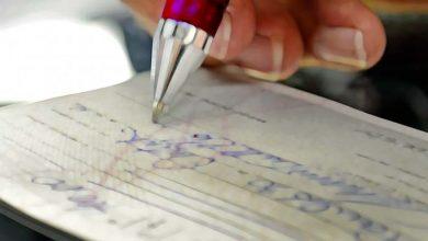 cheque 390x220 - Nas férias redobre o cuidado com documentos pessoais e cheques