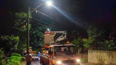 cidadeiluminada São Leopoldo 390x220 - Prefeitura São Leopoldo inicia instalação de lâmpadas de LED nos bairros
