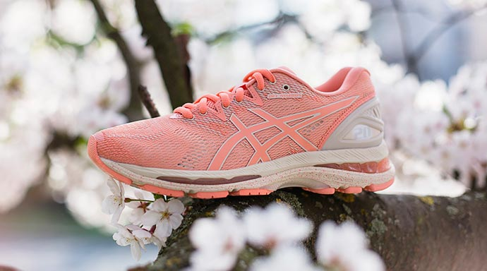 coleção Sakura - ASICS lança coleção Sakura em homenagem ao florescer das cerejeiras