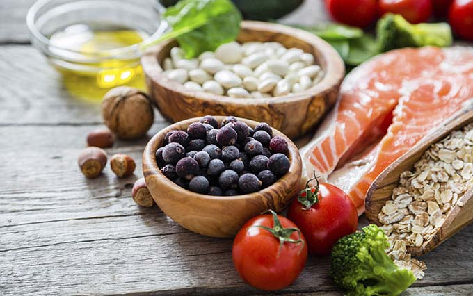comida saudavel cópia - Alimentação saudável reduz risco de doenças cardíacas