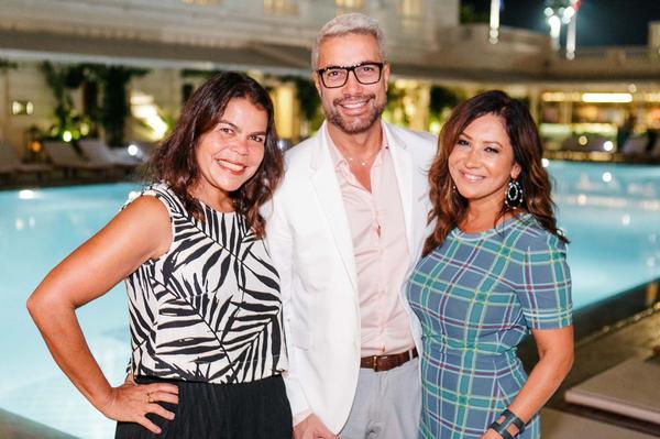 daniela falcao fernando torquato e sinesia karol 0240 web  - Sinesia Karol oferece Fashion Dinner Celebrate