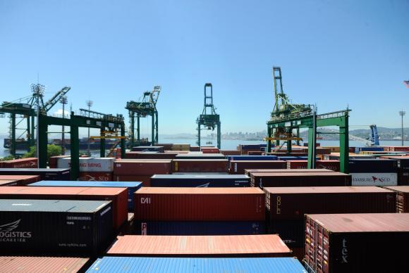 exportações 1 - Primeiro semestre teve superávit de US$ 27,13 bilhões