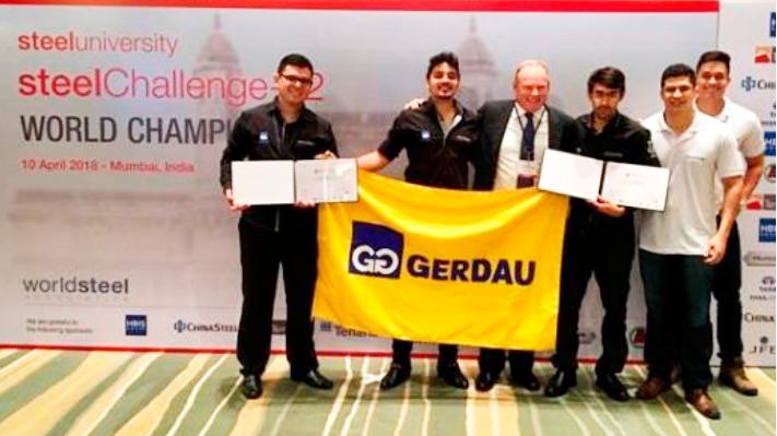 gerdau cearense - Gerdau Cearense é destaque no desafio mundial do aço