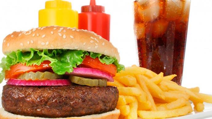 hamburger 001 - Alimentos acidificantes x alimentos alcalinizantes