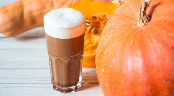 latte - Receita Latte de abóbora